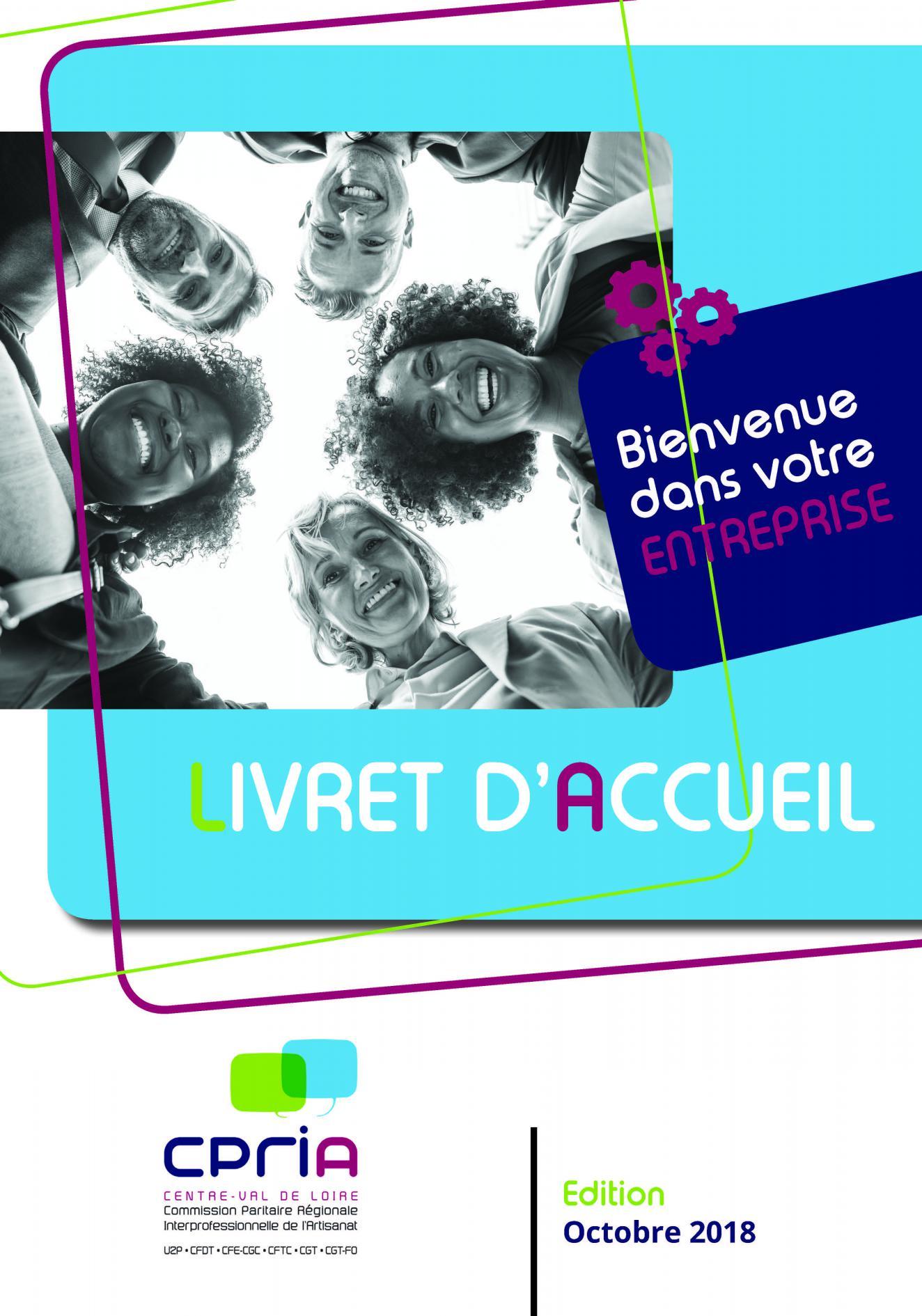 Le Livret D Accueil De La Crpia Centre Val De Loire Centre Val De